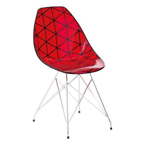 La chaise glamour de chez fly chaises design en veux for Chaises chez fly