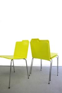 Folder chair.