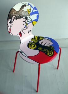 Les Vieilles Chaises Relookes Par Silvia Zacchello