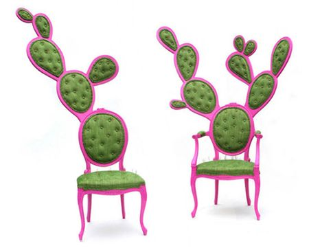 prickly pair chair