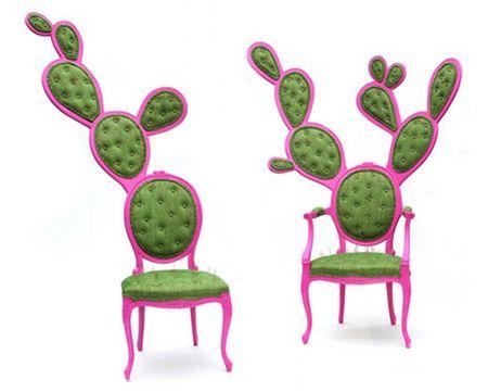prickly pair chair