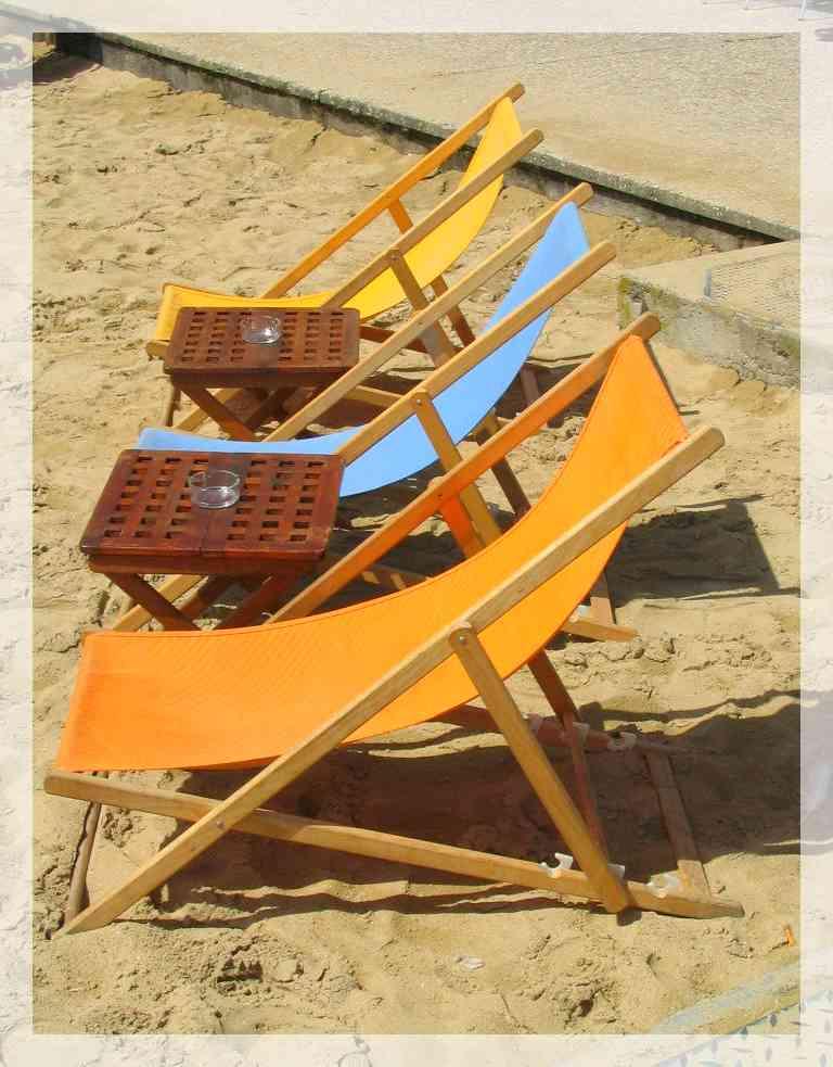 Petite histoire de la chaise longue ou du transat for Transat ou chaise longue