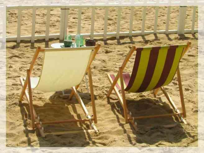 chaises longues ou transat