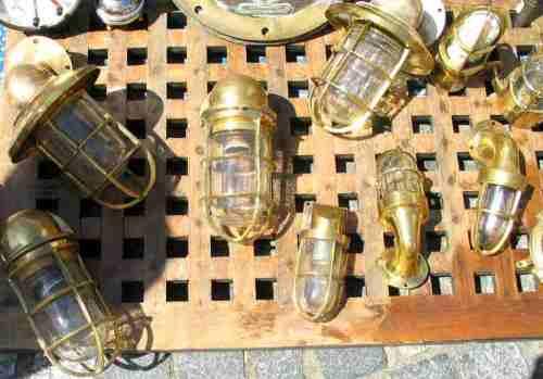 Lampes en cuivre