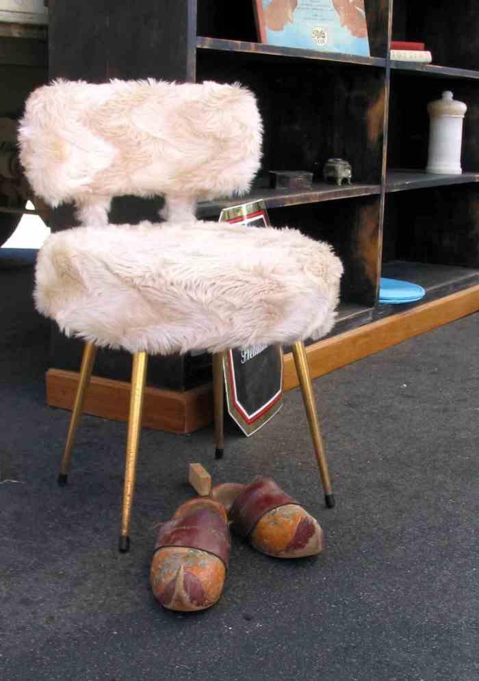chaise des années 70