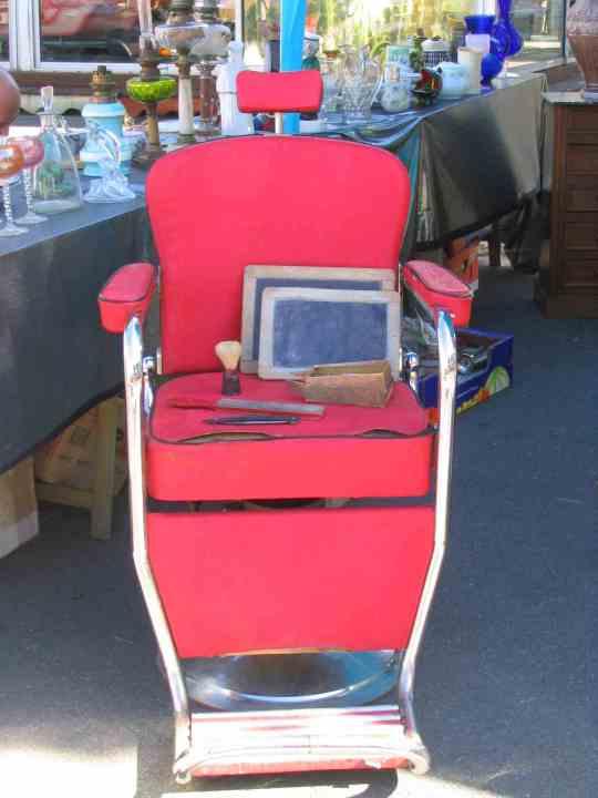 fauteuil de barbier