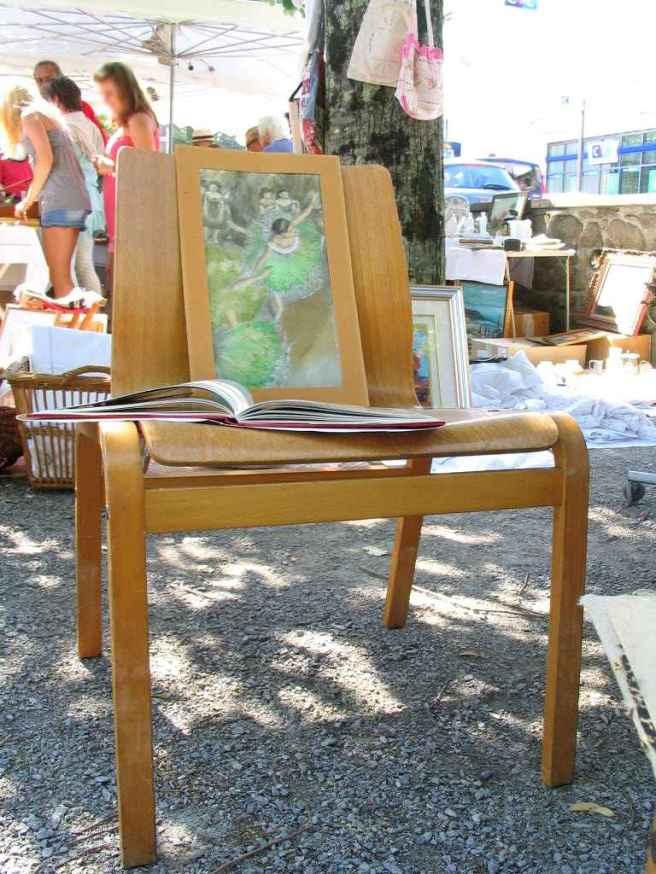 fauteuil bois moulé